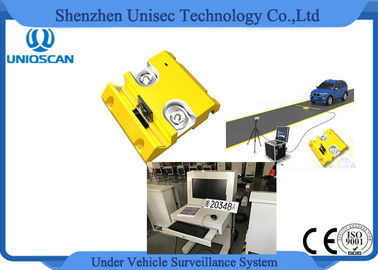Durable Mobile Under Vehicle Inspection System , Portable Surveillance System